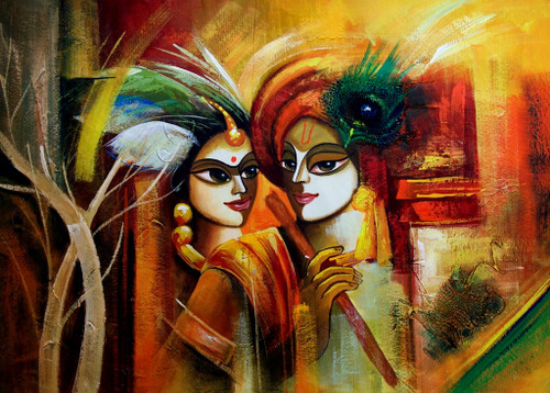 Buy Divine Couple By Community Artists Group Rs 6790 Coderajven563424 - Shop Art -6541