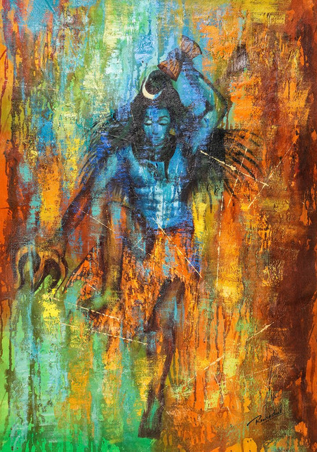 Buy Shiv Tandav By Community Artists Group Rs 7290 Code