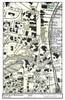 Set of 10 same size Historical Maps - Brattleboro VT Downtown - 3 Main St. Closeup - Old Map