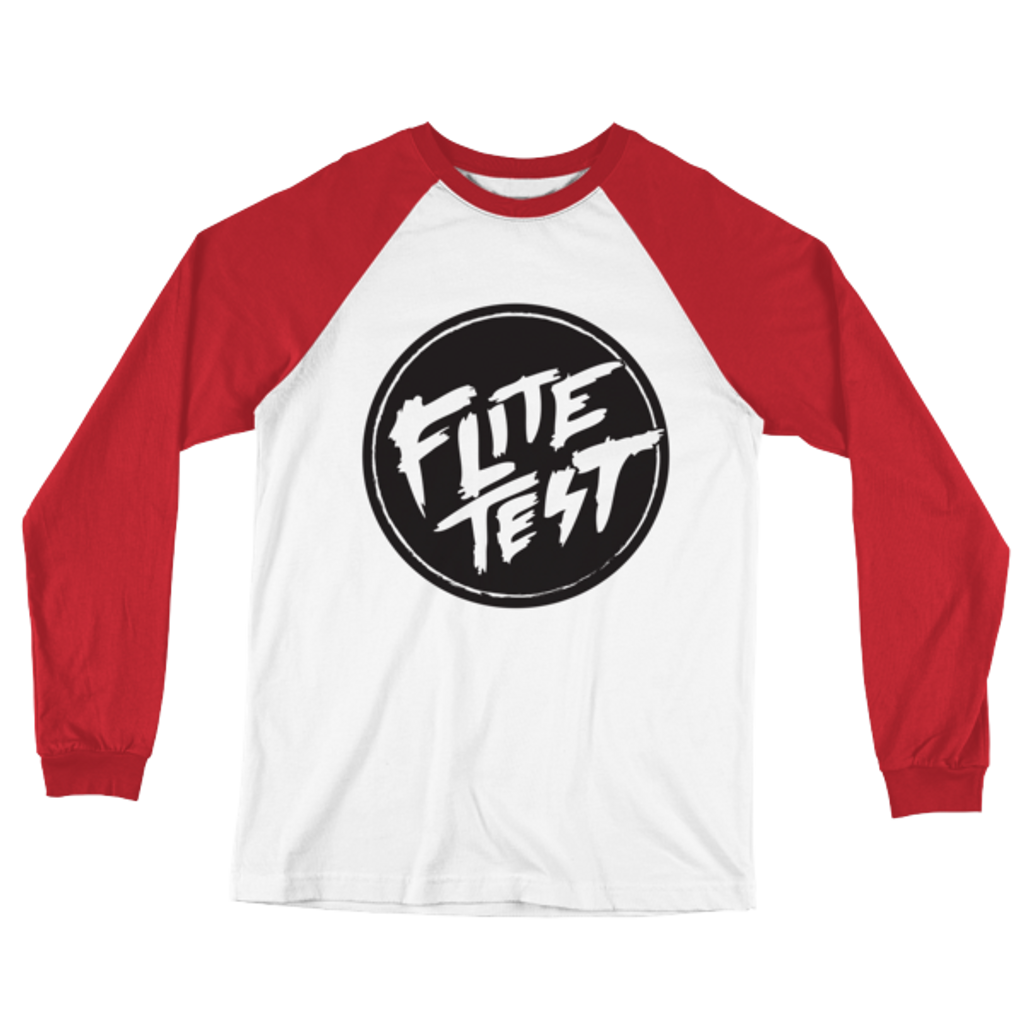 Flite Test Long Sleeve Baseball T-Shirt