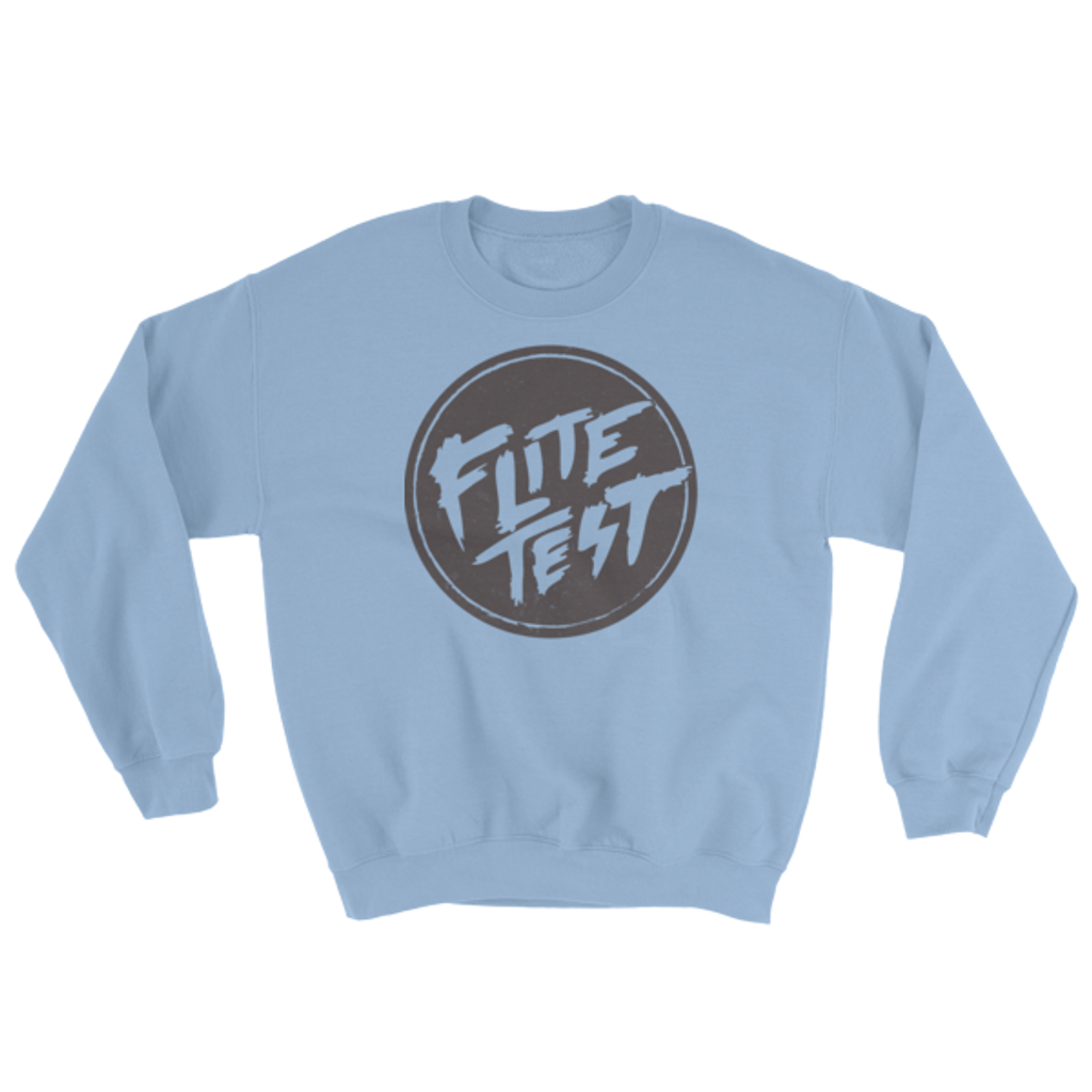 Flite Test Crew Neck Sweatshirt