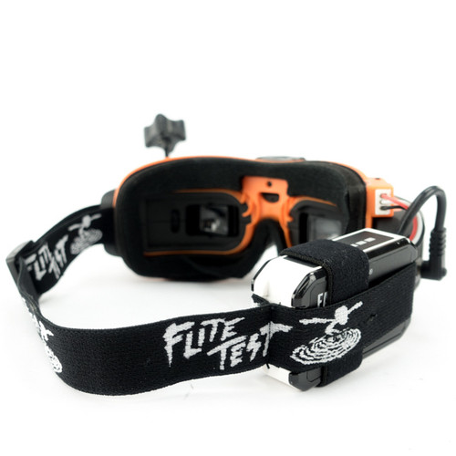 Flite Test Edition Goggles Head Strap (Black)