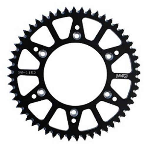 SUZUKI RMZ250 REAR ALLOY SPROCKET 48 49 50 51 52 MIKA 2007-2018