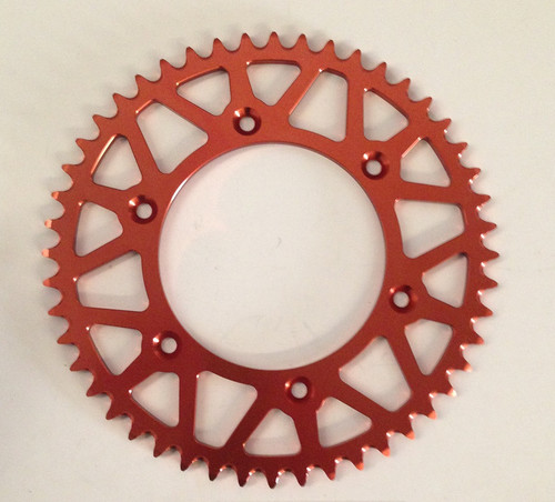 KTM REAR SPROCKET ALLOY 125 250 300 350 450 500 EXC SX SX-F 48Tooth