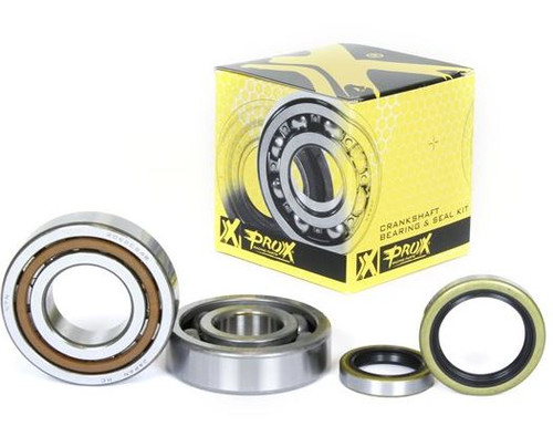 KTM 125 144 150 SX MAIN BEARING & CRANK SEALS KIT PROX 1998-2018