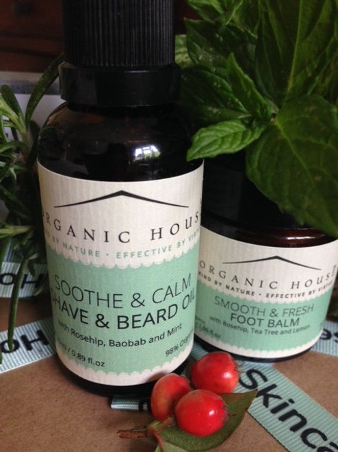 Soothe and Calm Shave and Beard Oil