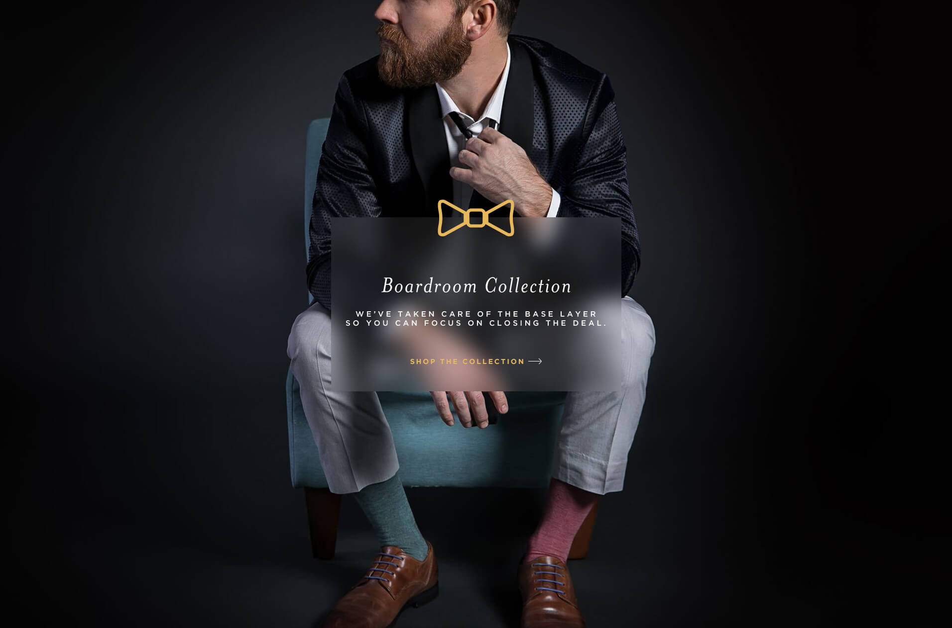 DeadSoxy Cool Men's Dress Socks. The Boardroom Collection is a premium dress sock for men.