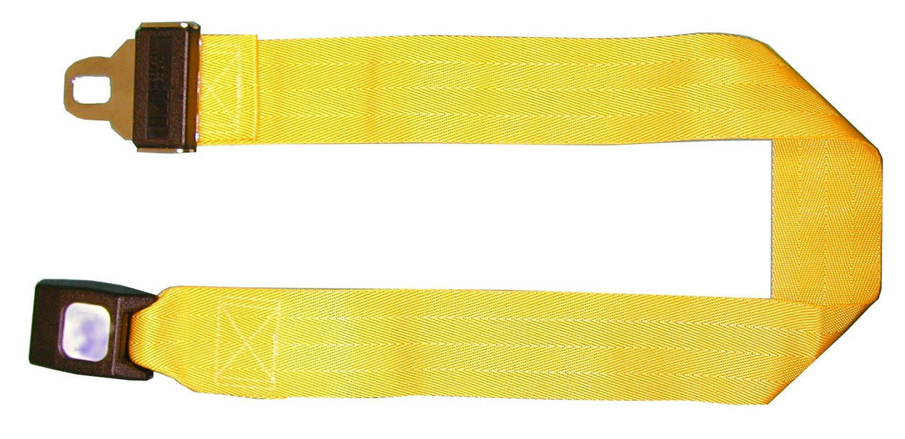 Stretcher Strap Extension 3 Foot - Yellow