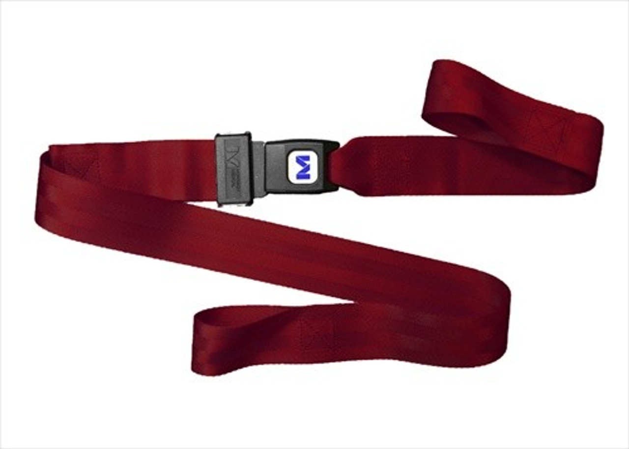 5 Foot  - 2 Piece Nylon Stretcher Strap with Metal Buckle