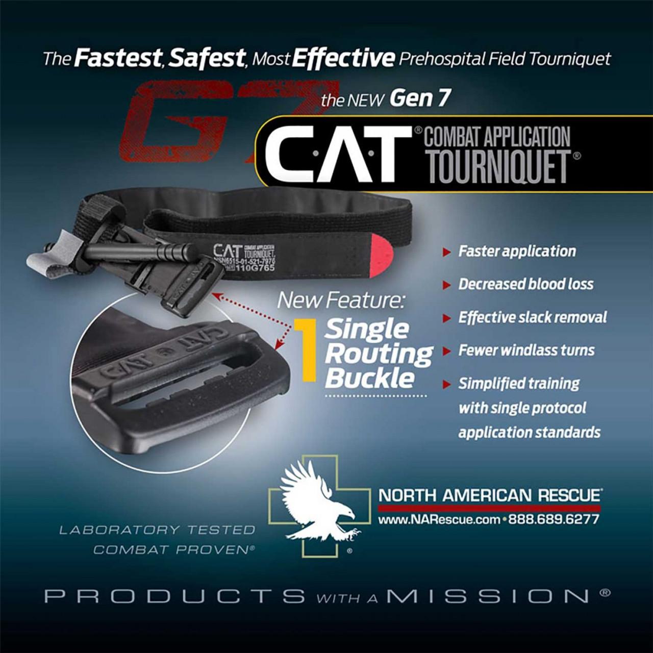 The Combat Application Tourniquet ® (C-A-T) GEN 7