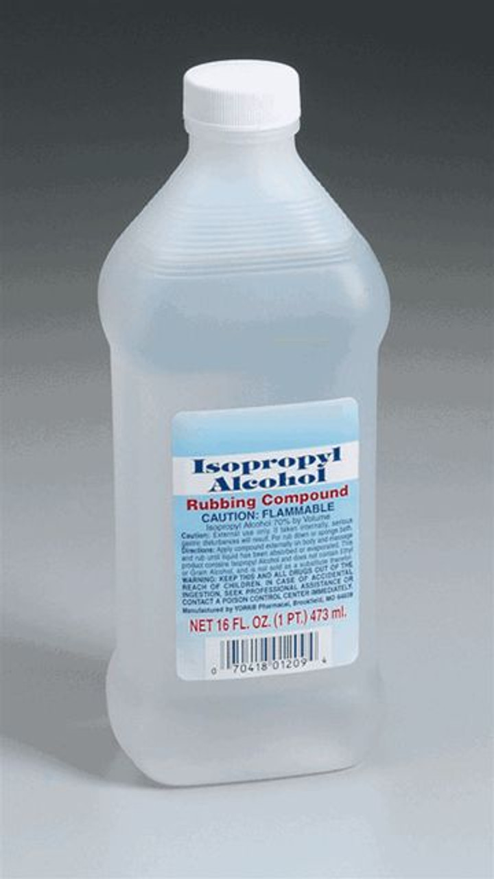 Isopropyl Alcohol - 16oz Bottle