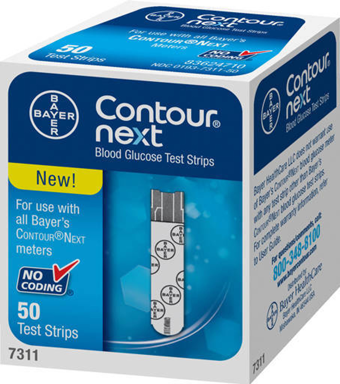 Contour® NEXT Test Strips by Bayer