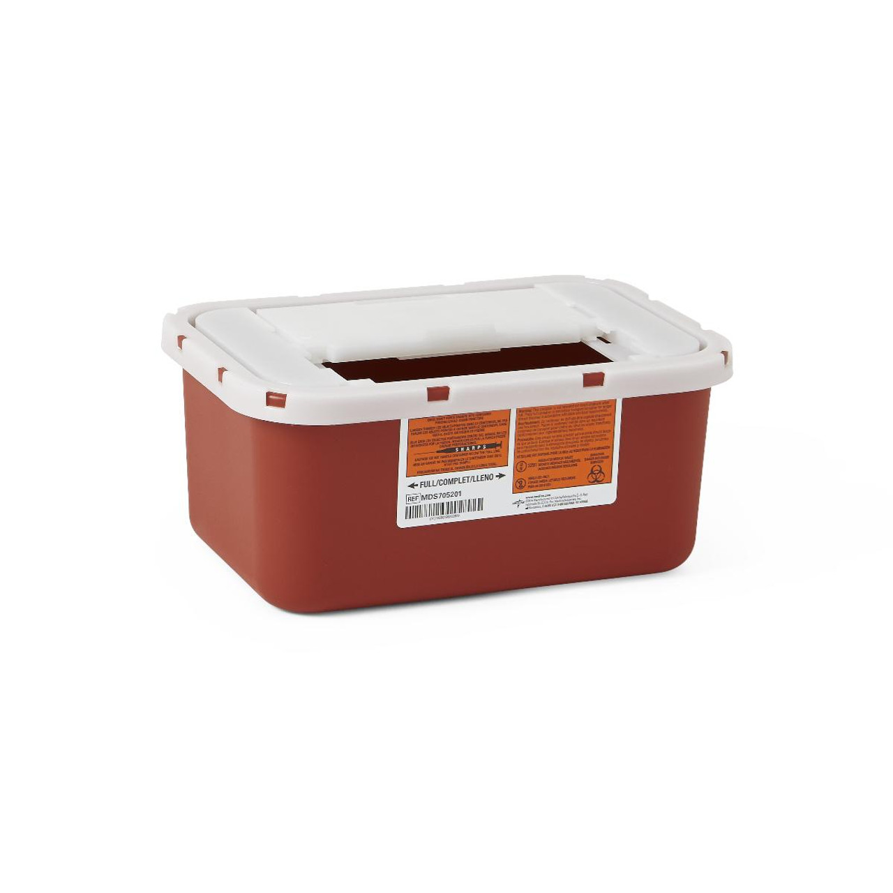 1 Gallon Sharps Container with Sliding Lid