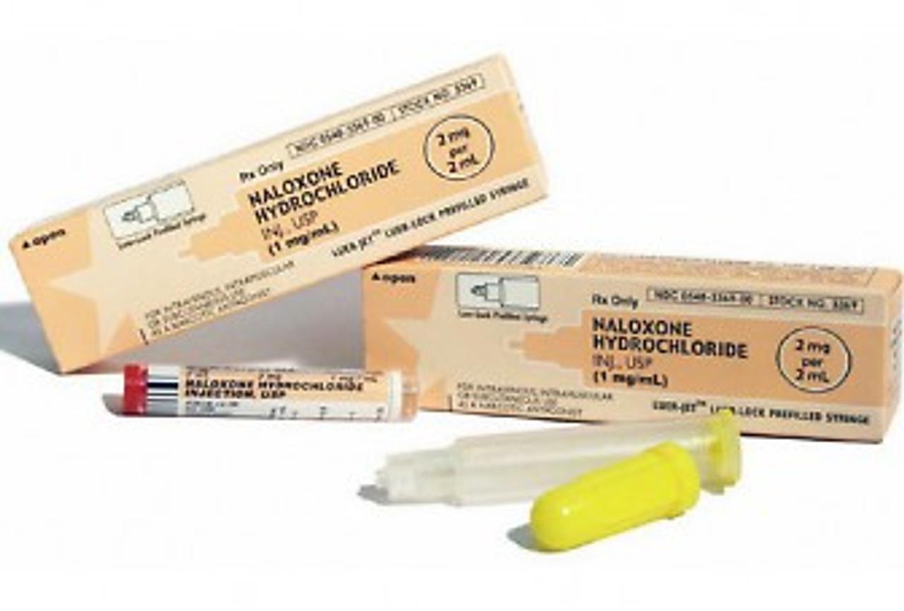 Narcan (Naloxone) in 2mg/2ml Luer-Jet™ Prefilled Syringe