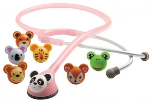 Adscope™ 618 Pediatric ADimal Stethoscope - Pink