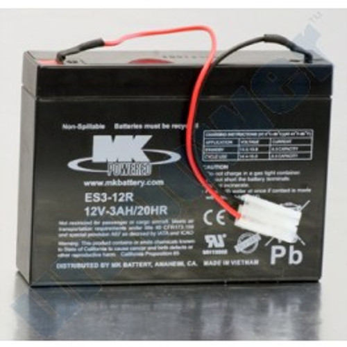 Replacement Battery for 74000 Series SSCORT-3 Suction