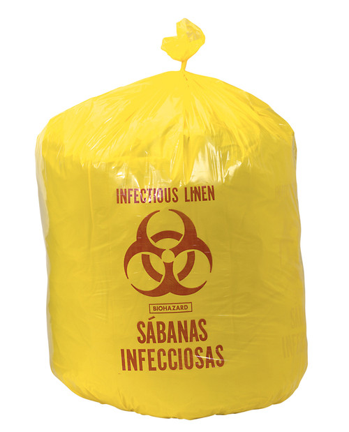 33 Gallon Infectious Linen Bag - 10 per Pack