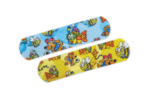 Cartoon Bandaids - 50 per Box