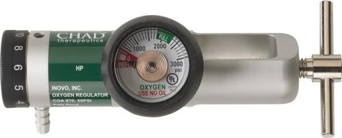 Brass-Core Oxygen Regulator 0-15 Lpm Settings