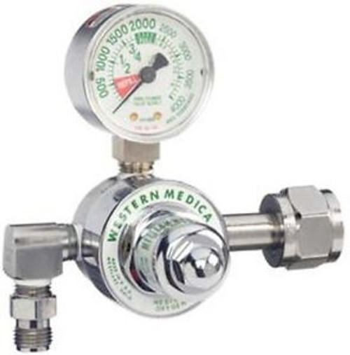 On-Board Oxygen Regulator with Large Gauge