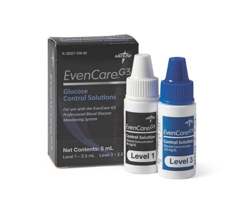 Hi/Lo Control Test Solutions for EvenCare G3 Glucometer