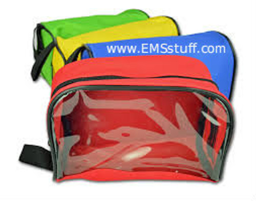 Zippered Pouches, Color-Coded - 4/Set