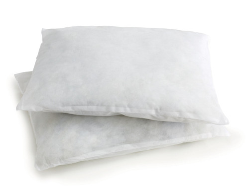 Disposable Cot Pillow - Large Size 17'' x  22''
