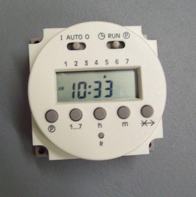 110V 120V weekly digital timer