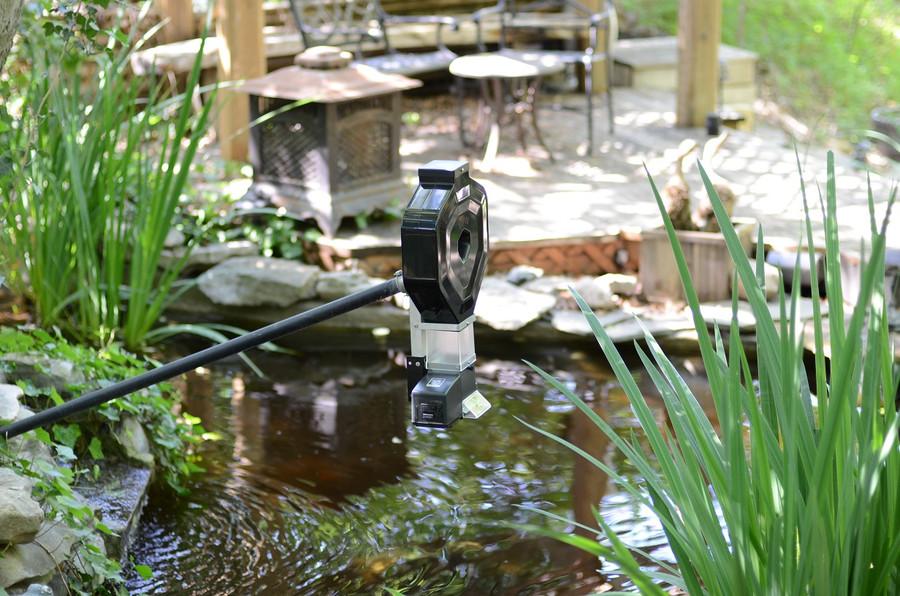 Koi Pond Feeder, KSF-2XL Basic, Hopper, Outdoor Transformer