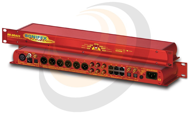 Digital Audio Distribution Amplifier With Multiple Outputs (1U) - Image 1