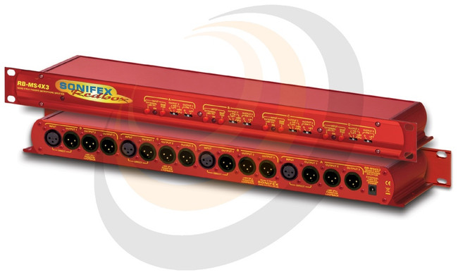 Quad 3 Way Passive Microphone Splitter - Image 1