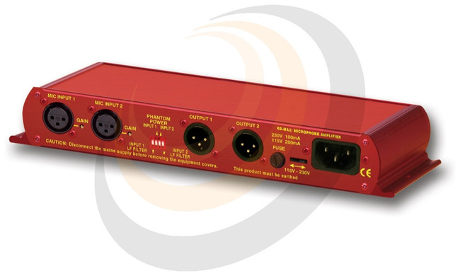 Dual Microphone Amplifier - Image 1