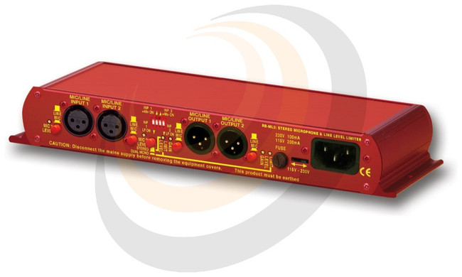 Stereo Microphone & Line Level Limiter - Image 1