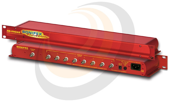 3G/HD/SD-SDI 1 Input, 8 Output Distribution Amplifier - Image 1