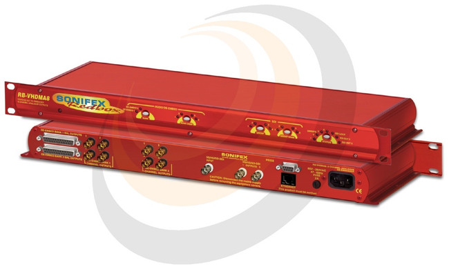 3G/HD/SD-SDI De-Embedder 8 Channel Analogue Outputs - Image 1
