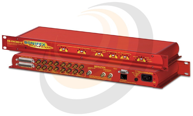 3G/HD/SD-SDI Embedder & De-Embedder 16 Channel Digital I/O - Image 1