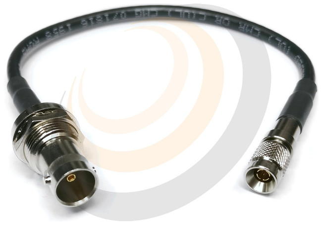 Cable - DIN to BNC Female 6G Adaptor 22cm  - Image 1