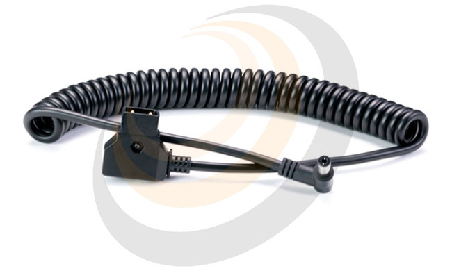 D-Tap to DC Barrel Coiled Cable - Image 1