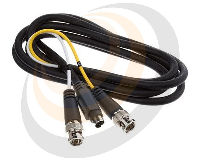 S-Video to Dual BNC Cable, 6 foot - Image 1