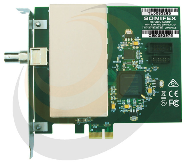 FM PCIe Radio Capture Card - 24 Channel - Image 1