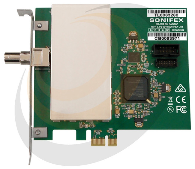 AM PCIe Radio Capture Card - 18 Channel - Image 1