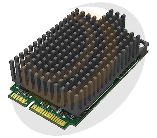 Pro Capture Mini SDI - mini PCIe, 11mm heatsink - Image 1