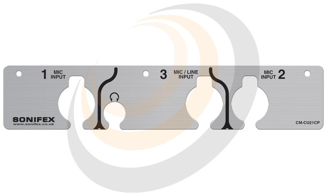 Commentator Unit Front Cover Plate - Image 1