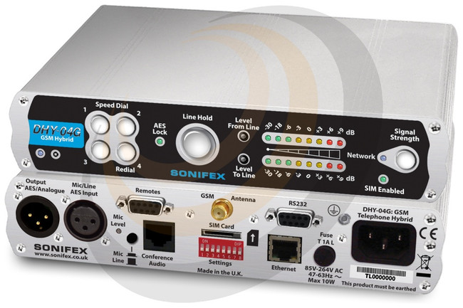 Digital GSM TBU, AES/EBU, Analogue, Ethernet, Free Standing - Image 1