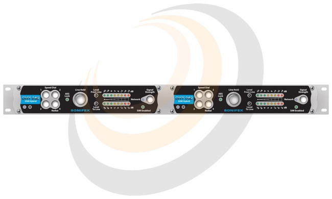 Twin Digital GSM TBU, AES/EBU, Analogue, Ethernet, Rack Mounted - Image 1