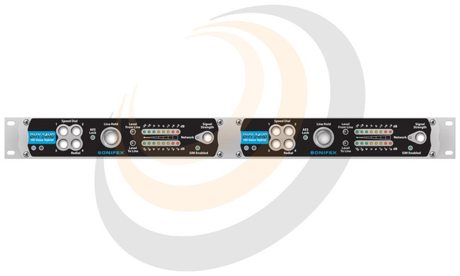 Twin Digital HD Voice TBU, AES/EBU, Analogue, Ethernet, Rack Mounted - Image 1