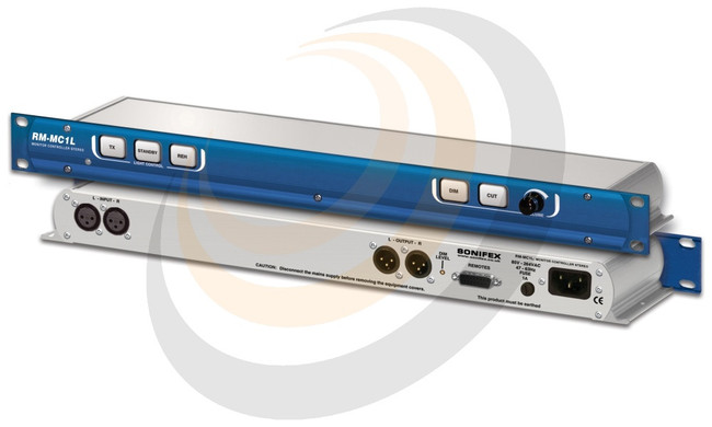 Monitor Controller Single Stereo Input With Light Control - Image 1