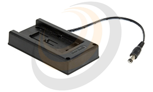 VidiU Batt. Adapter plate for Sony M Series 7.2 volt batt. to Barrel Connnector - Image 1
