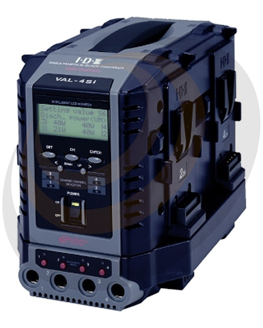 8-Channel(4+4)  Fully Simultaneous, Quick Charger with Intelligent Display and Discharge - Image 1