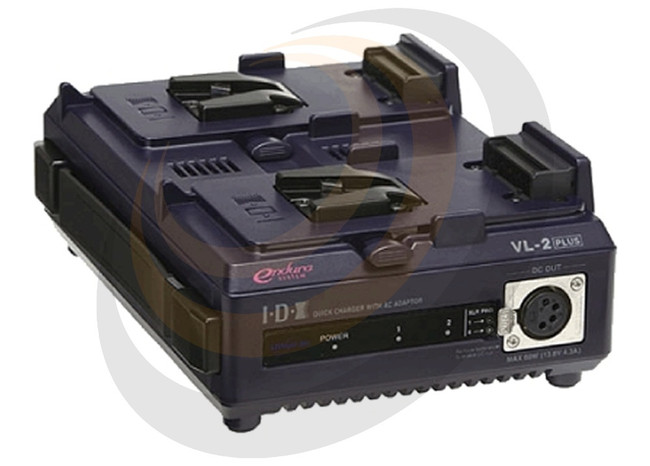 2-Channel Sequential Quick Charger with AC Adaptor(60W) - Image 1